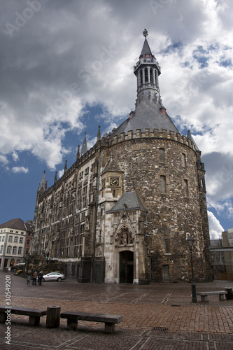 Aachen City Hall (Germany,Westphalia)