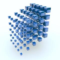 Cubos Azul