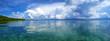 Panorama in the archipelago of Bocas del Toro