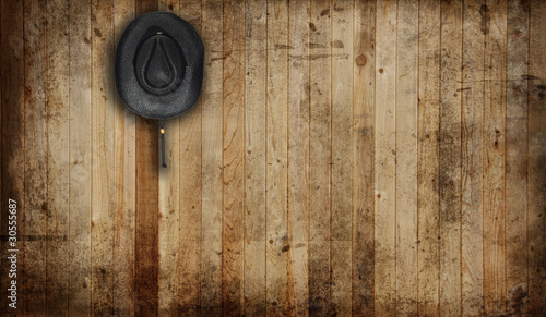 canvas print picture Cowboy hat