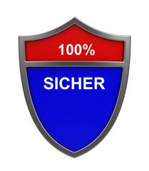 100% SICHER
