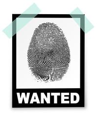 Fingerabdruch wanted