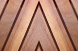 Texture bois massif - Pose en chevrons poster