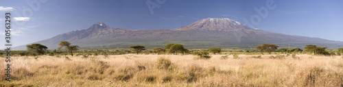 Leinwandbild Motiv Kilimanjaro Mountain