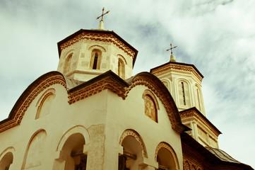 Old beautiful monastery in Romania