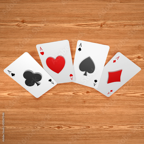 3d playing card suits embossing on cards