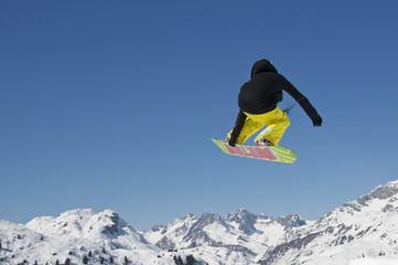 Snowboarder #1