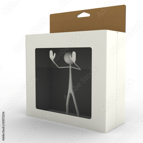 Stickman in a Box