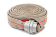 Leinwanddruck Bild - fire fighter hose