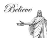 Believe in Jesus poster