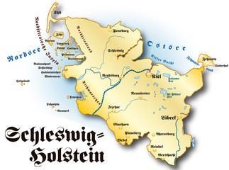 Schleswig-Holstein gold antik