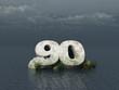 ninety monument