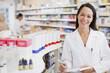 Pharmacist standing in drug store