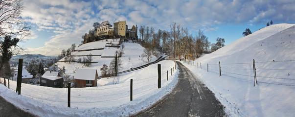 Lenzburg im Winter