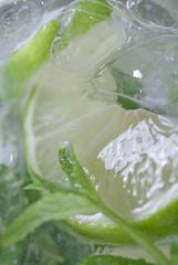 Mojito closeup