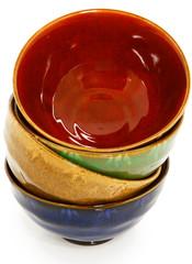 Stacked Ceramic Bowls