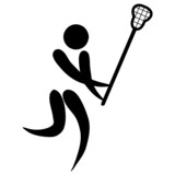 Lacrosse sign poster