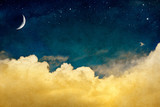 Moon and Cloudscape
