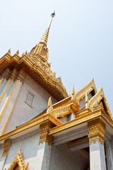 Thai style architecture, Wat Traimitr Withayaram, Thailand