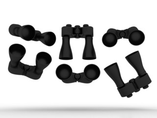 Black Binocular Designs