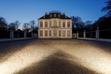 Nachtaufnahme Schloss Falkenlust