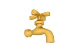 Fashionable Golden Stylish Tap