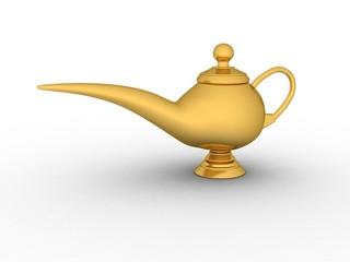 Antique Decor Genie Lamp