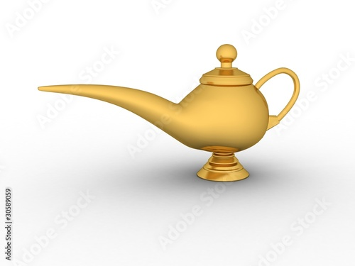 Antique Decor Genie Lamp