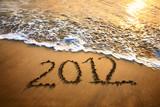 2012 year on the beach - Fine Art prints