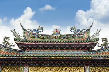 Buddhist Temple in Taiwan