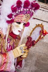 Maschera con specchio