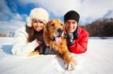 Fototapety Portrait with dog