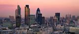 Londyn w kolorach zmierzchu
