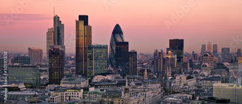 City of London at twilight - 30597838
