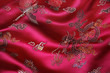 canvas print picture - Chinese Fabric