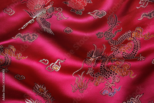 canvas print picture Chinese Fabric