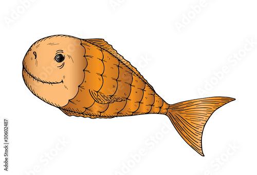 铅笔绘画海洋生物