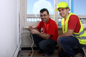 électricité sur chantier