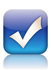 TICK Button (accept submit agree validate positive vote ok yes)