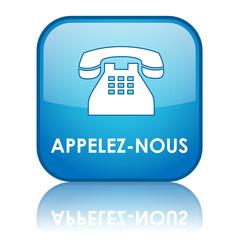 Bouton Web APPELEZ-NOUS (service clients contact téléphone)