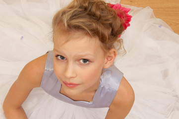 Potrait of a little girl