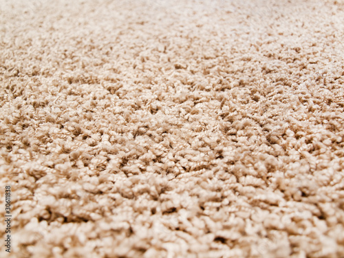 Thick luxury carpet closeup - 30611838