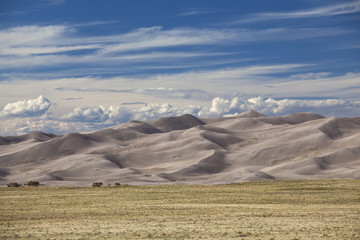"""Sand dunes of Great Sand Dunes, Colorado, United States"""