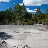 Geothermal mud pool poster