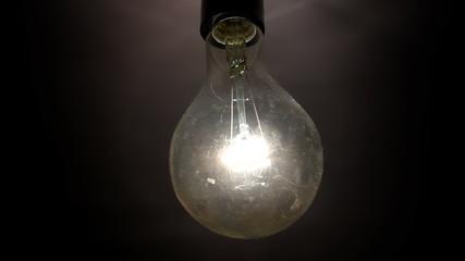 Light bulb blinks