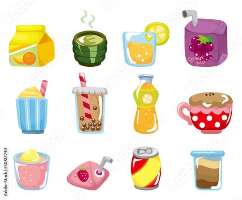 cartoon drink icon