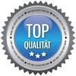 Button - Top Qualität - Nur das beste für Sie - blau