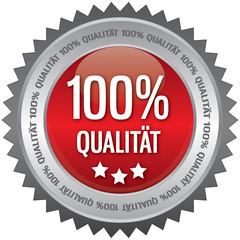 Button - 100% Qualität - rot