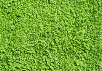 Green towel texture.