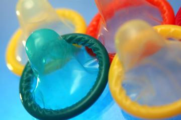 Preservativos de colores